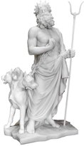 Private Label Hades (Pluto) and Cerberus 6138 , Greek Roman God of the Underworld Statue