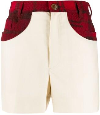 Vivienne Westwood Tartan Pocket Shorts