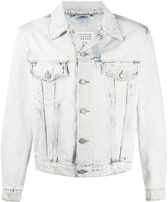 Maison Margiela Bleach-Wash Denim Jacket