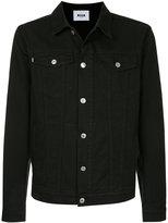 MSGM embroidered denim jacket