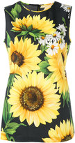 Dolce & Gabbana sunflower print tank top - women - Cotton - 40