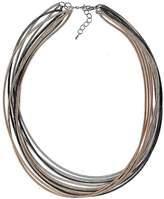 Kaleidoscope Multi Row Metallic Necklace