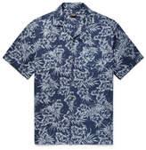 Club Monaco Slim-Fit Camp-Collar Printed Linen Shirt