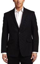 Kenneth Cole Reaction Mens Black Tic Suit Separate Coat