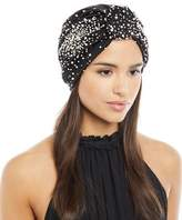 Jennifer Behr Full Turban w/ Scattered Pearly Beads