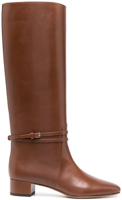 Francesco Russo Tall Country Boots