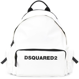 DSQUARED2 Multi-Pocket Logo Backpack