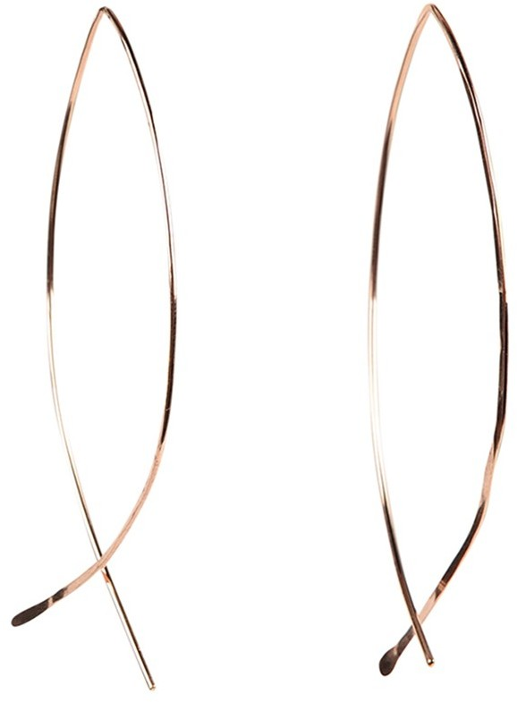Dana Reed Narrow Hoop Earrings