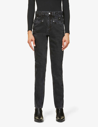 Isabel Marant Nominic slim-fit high-rise jeans