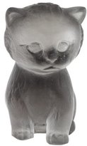 Daum Crystal Kitten Figurine