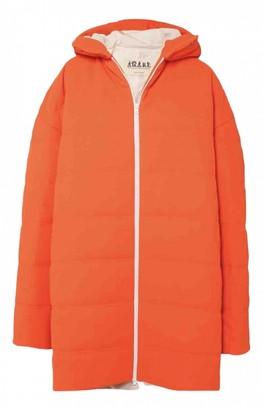 Awake Orange Coat for Women