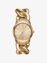Michael Kors Elena Gold-Tone Watch