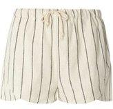 Dorothy Perkins Womens **Vero Moda White Stripe Shorts- White