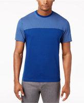 Alfani Men's Stretch Color Block T-Shirt, Created for Macy's