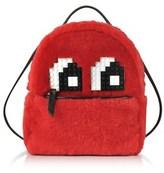 Les Petits Joueurs Women's Red Wool Backpack.