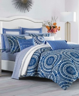 Trina Turk Samba De Roda Blue Aster Twin Comforter Set Bedding