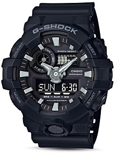 G-Shock Front Button Watch, 51.2mm
