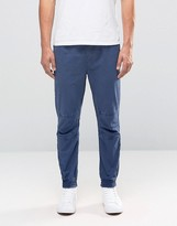 Celio Woven Joggers With Cuffed Hem