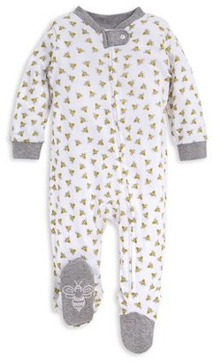 Burt's Bees Baby Organic Cotton Baby Boys or Baby Girls Footed Sleep 'N Play Pajamas