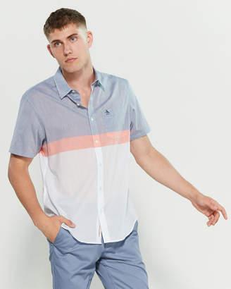 Original Penguin Color Block Lawn Shirt