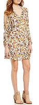 Jessica Simpson Meadow Floral-Printed Peasant Dress