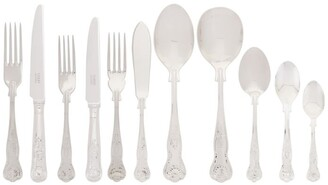 Carrs of Sheffield Silver Kings Stainless Steel 60-Piece Cutlery Set