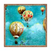 Deny Designs Land of Lulu Herd Balloons 2 Square Tray