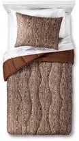 Pillowfort Faux Bois Comforter Set