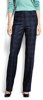 Classic Women's Pre-hemmed Wear to Work Trouser Pants-Blue Brook