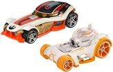 Hot Wheels Star Wars Character Car 2-Pack BB-8 & Poe Dameron