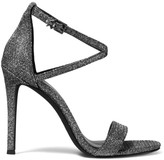 MICHAEL Michael Kors Antonia Metallic Ankle Strap Sandals