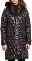 Lauren Ralph Lauren Packable Faux Fur-Trim Quilted Down Jacket
