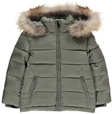 Il Gufo Fur Hood Puffa Jacket