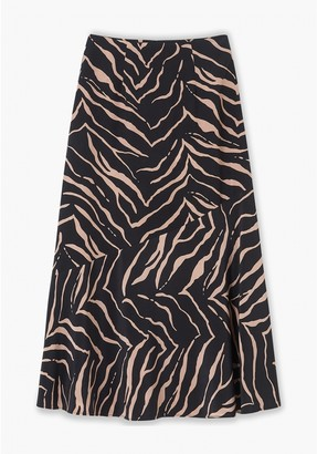 Lily & Lionel Tiger Lottie Skirt in Black - xs