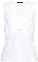 The Row Tiana cotton-poplin top