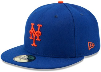 New Era Youth Royal New York Mets Authentic Collection On-Field Game 59FIFTY Fitted Hat