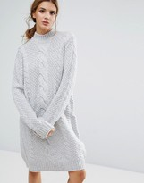 Gestuz Sanni Alpaca Wool Mix Sweater Dress