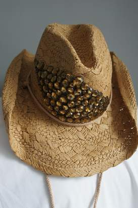 Olive & Pique Amber Rhinestone Cowgirl-Hat