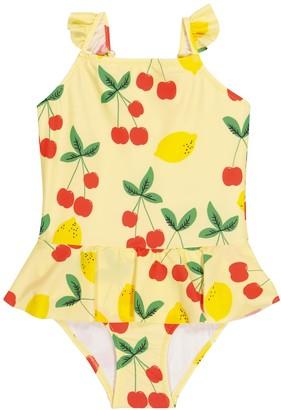Mini Rodini Cherry Lemonade swimsuit