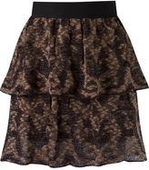 Cecilia Prado ruffled knit skirt