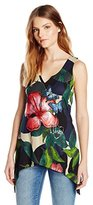Desigual Women's Knitted T-Shirt Sleeveless 7