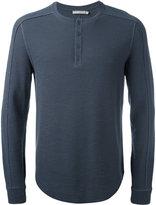 Vince button up sweatshirt