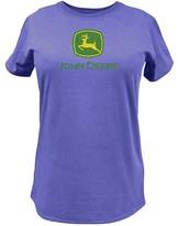 John Deere Purple Logo Tee - Plus Too
