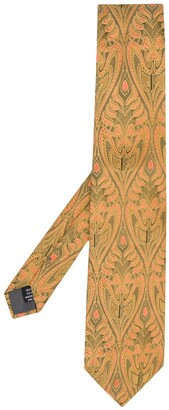 Gianfranco Ferré Pre Owned 1990s Floral Jacquard Tie