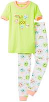 Petit Lem I'm Tres Tres Cool Pajama - 2-Piece Set (Toddler & Little Girls)