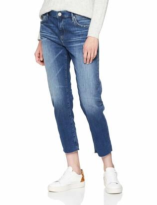 True Religion Women's New Boyfriend Cobalt Stretch Jeans