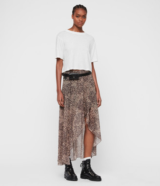 AllSaints Slvina Patch Skirt