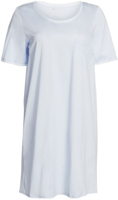 Hanro Cotton Deluxe Short Sleeve Gown