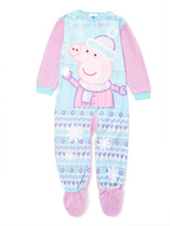 Komar Kids Blue & Pink Peppa Pig Bodysuit - Toddler
