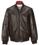 Andrew Marc Leather Bomber Jacket